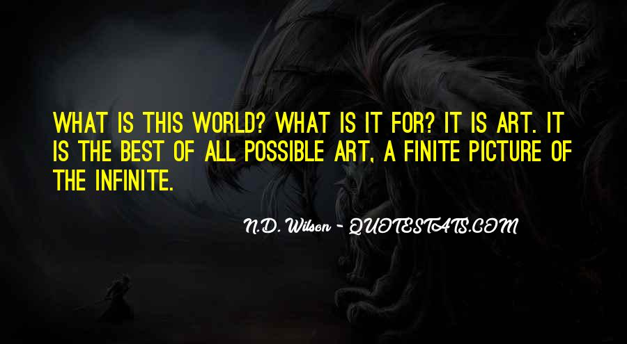 What Is Art Best Quotes #1729086