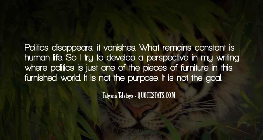What Is The Purpose Of Life Quotes #953440