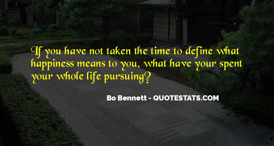 What Life Means Quotes #257236