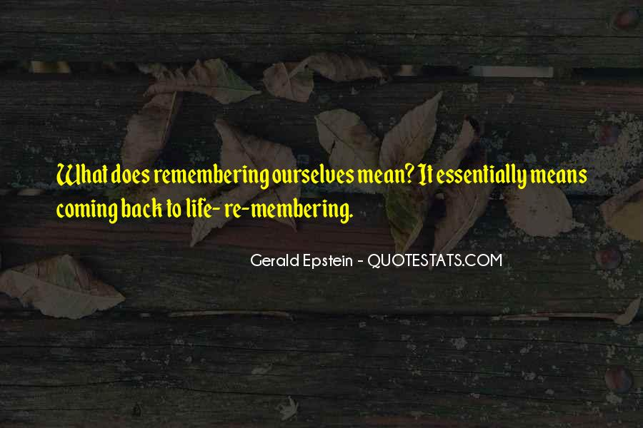 What Life Means Quotes #414344