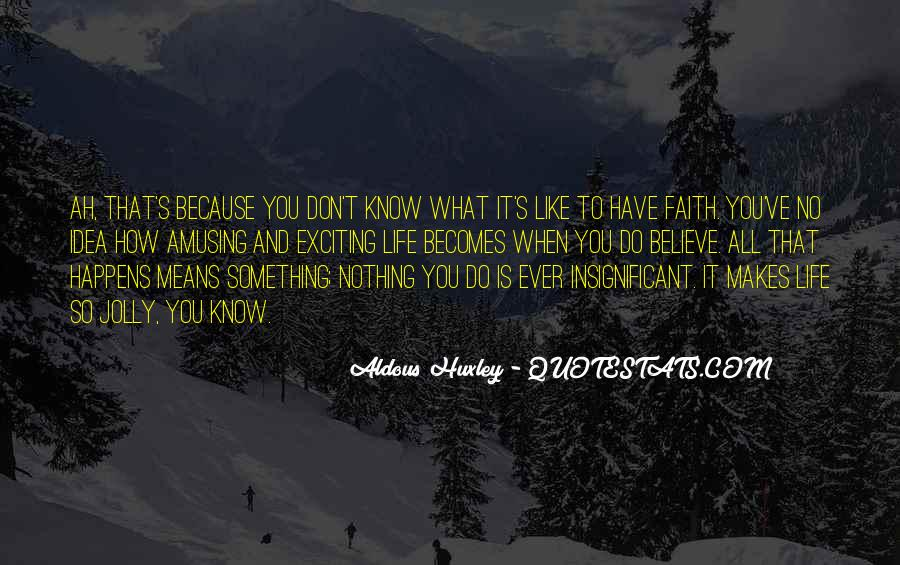 What Life Means Quotes #498920