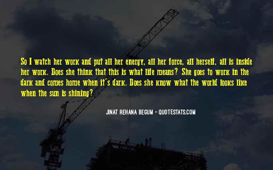 What Life Means Quotes #502006