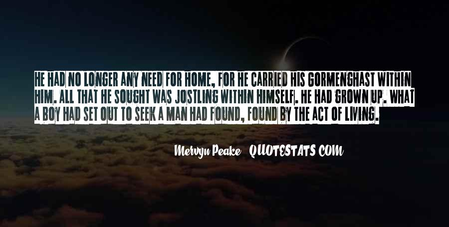 What Man Need Quotes #211213
