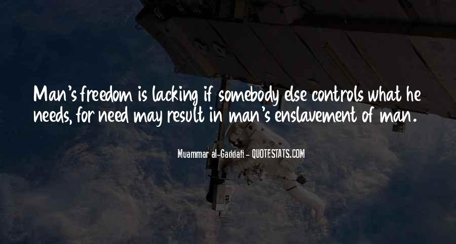 What Man Need Quotes #814025