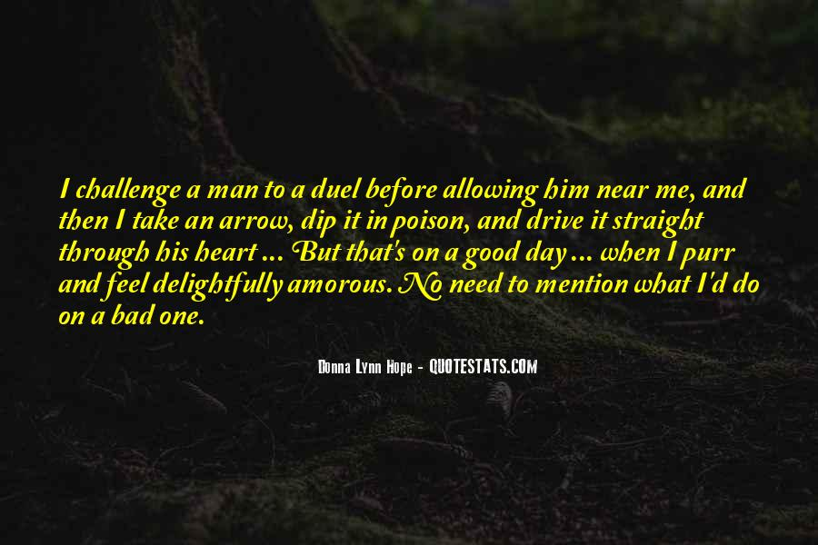 What Man Need Quotes #874822