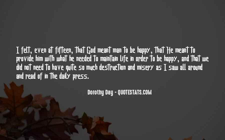 What Man Need Quotes #970805