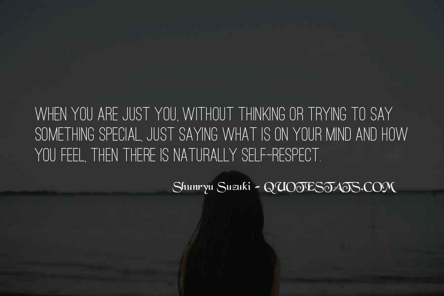 What Say You Quotes #19918