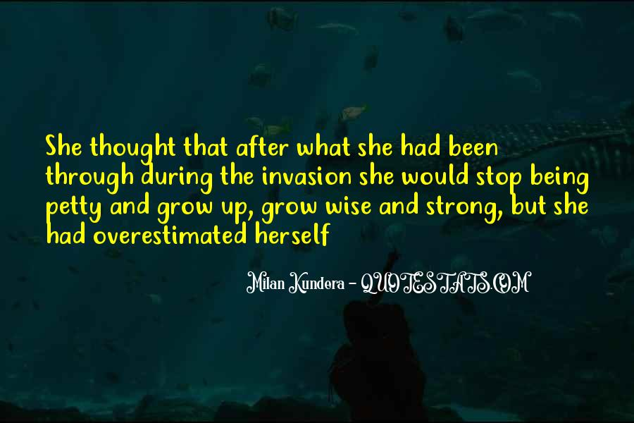 What She's Been Through Quotes #1269074