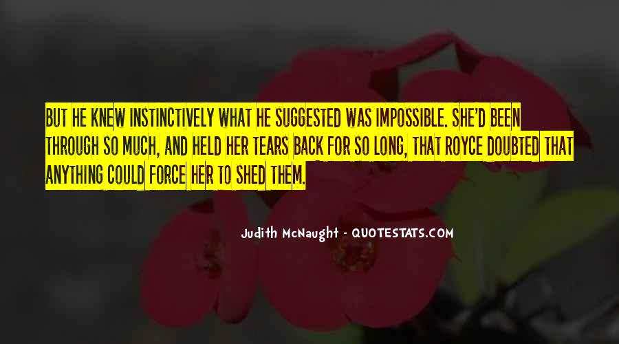 What She's Been Through Quotes #1689102