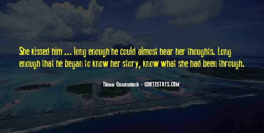 What She's Been Through Quotes #996126