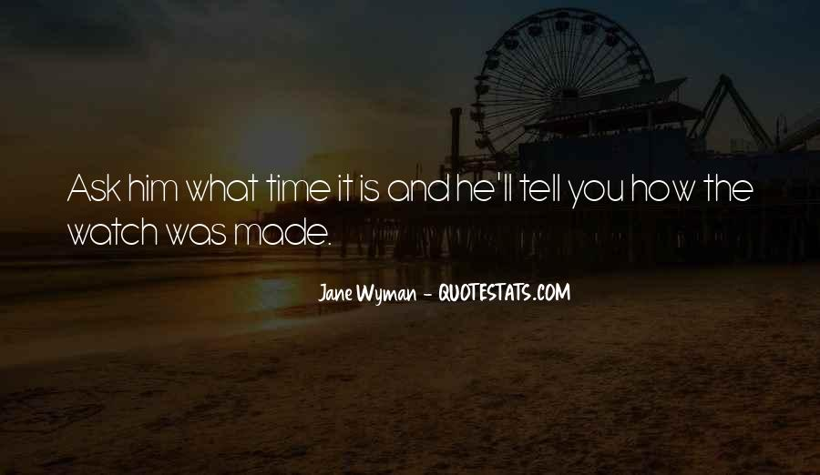 What Time Is It Funny Quotes #162106
