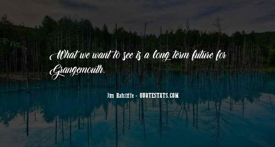 What We Want To See Quotes #516666