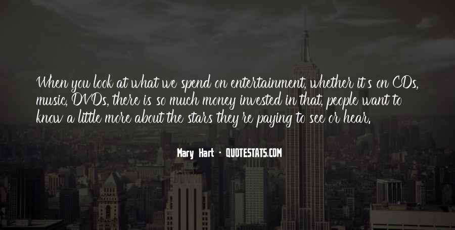 What We Want To See Quotes #528356
