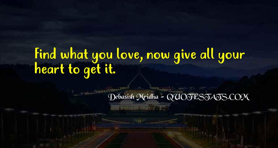 What You Give Quotes #23102