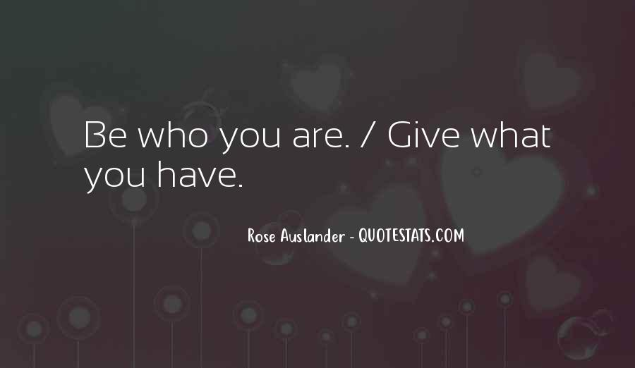 What You Give Quotes #45467