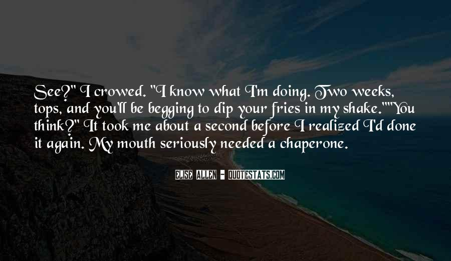 What You See In Me Quotes #169439