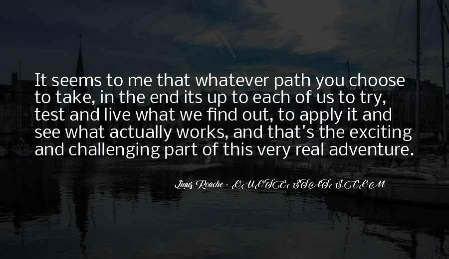 What You See In Me Quotes #214625