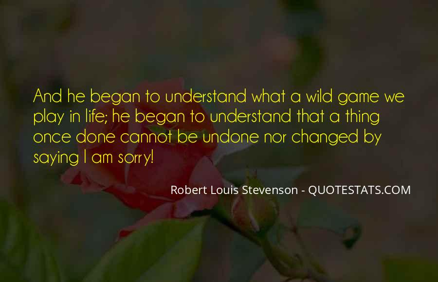 What's Done Cannot Be Undone Quotes #84016