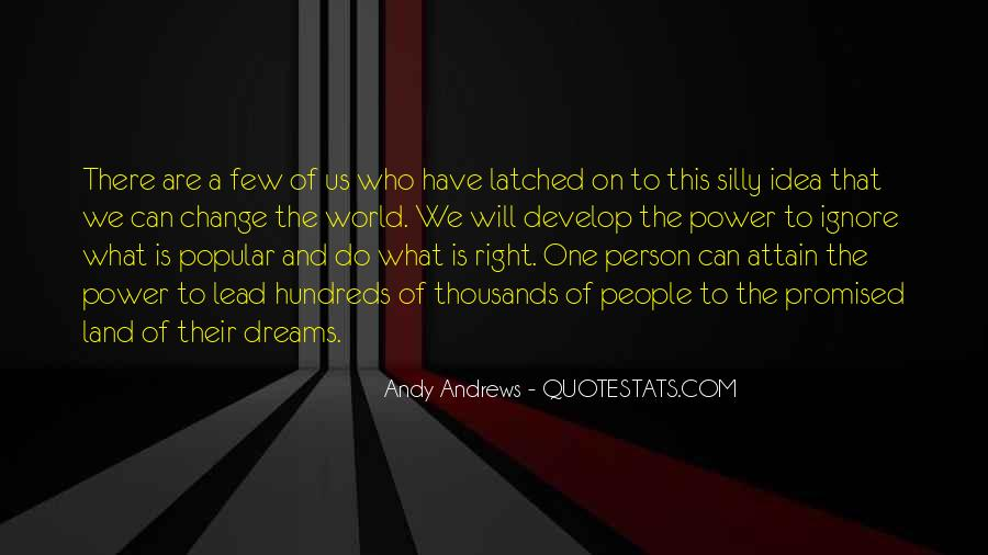 Quotes About The World And Dreams #140947