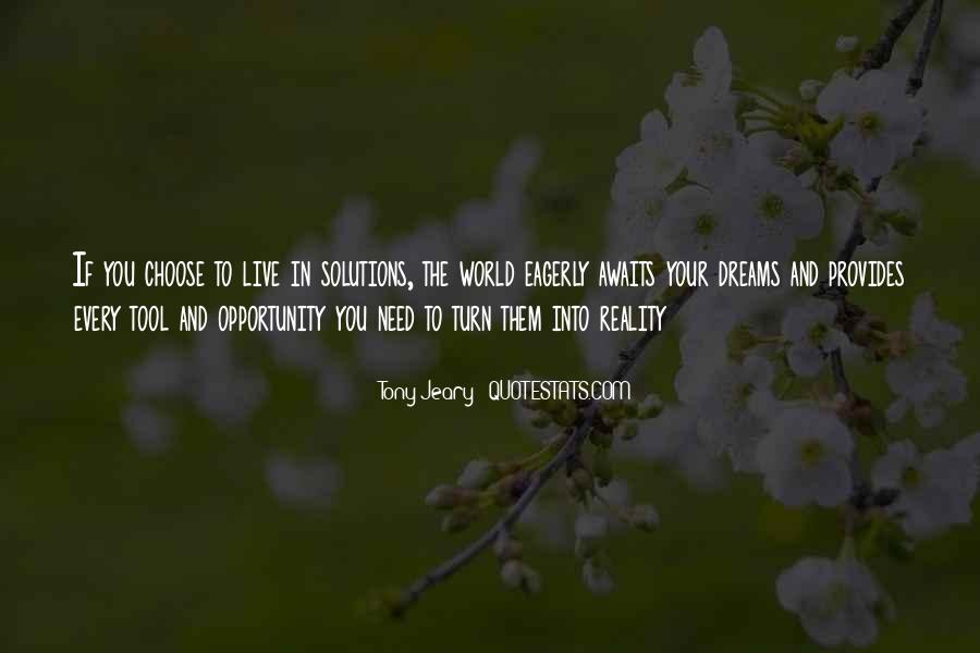 Quotes About The World And Dreams #161030