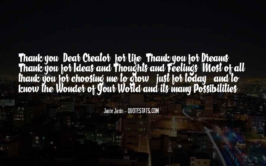 Quotes About The World And Dreams #248444