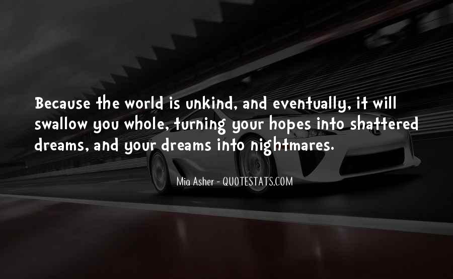Quotes About The World And Dreams #282498