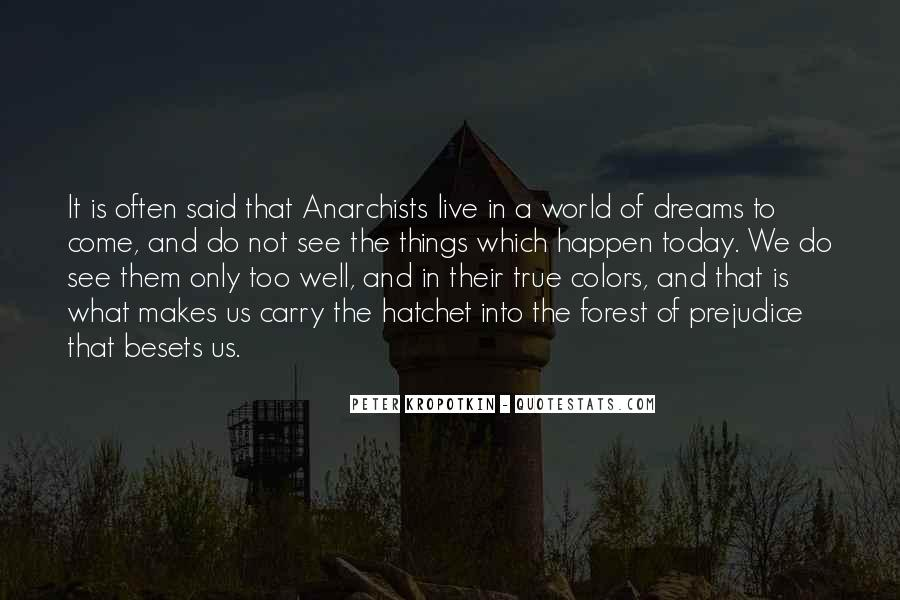 Quotes About The World And Dreams #318542
