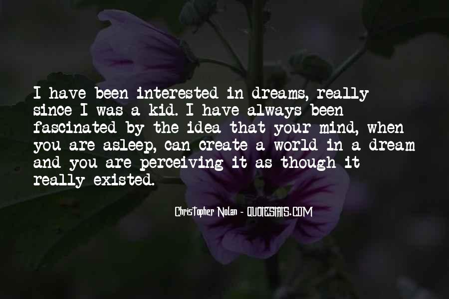 Quotes About The World And Dreams #445618