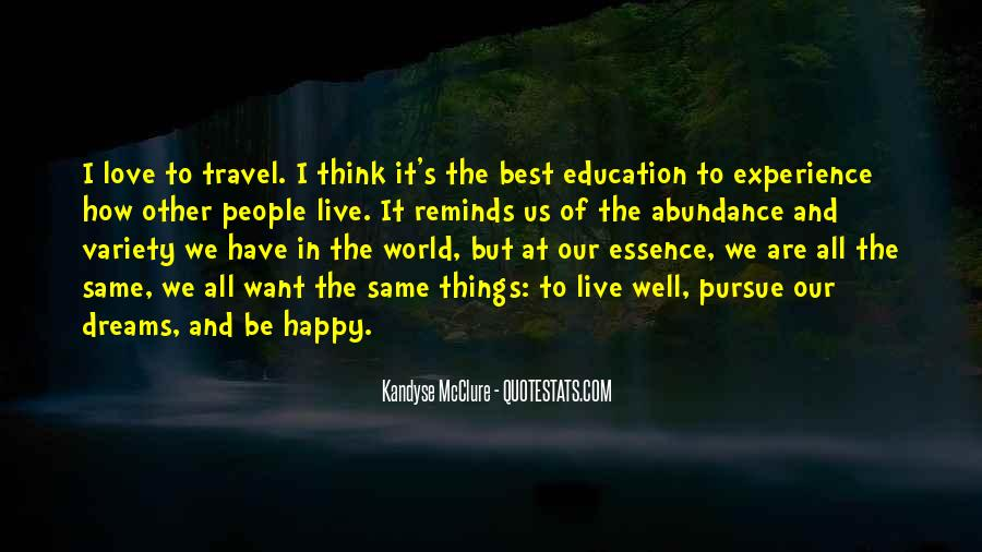 Quotes About The World And Dreams #505685