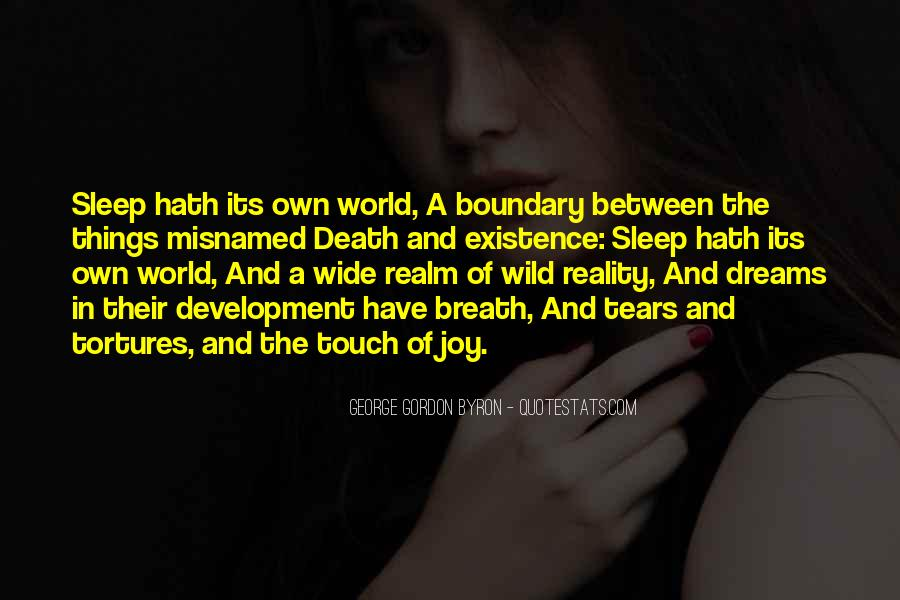 Quotes About The World And Dreams #57277
