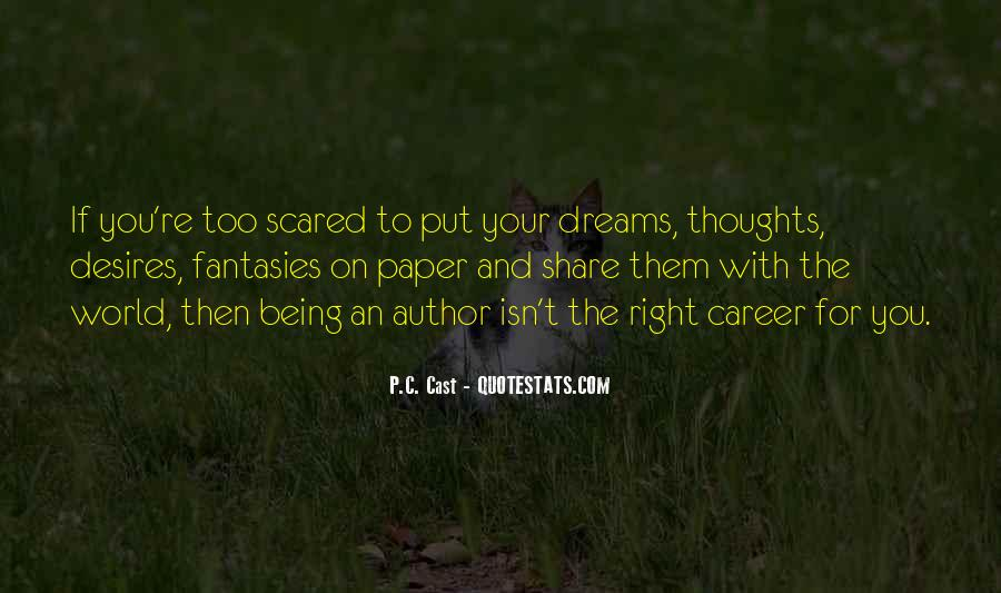 Quotes About The World And Dreams #9569
