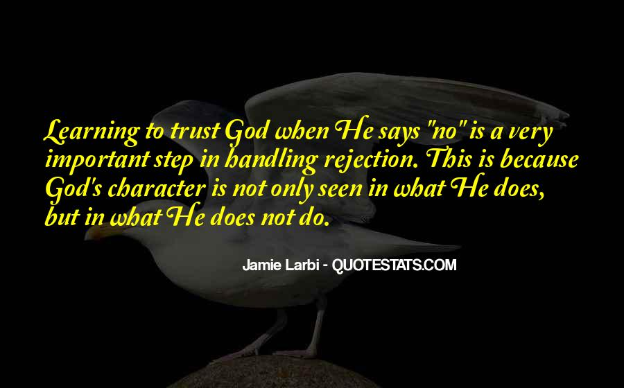 What's Trust Quotes #148184