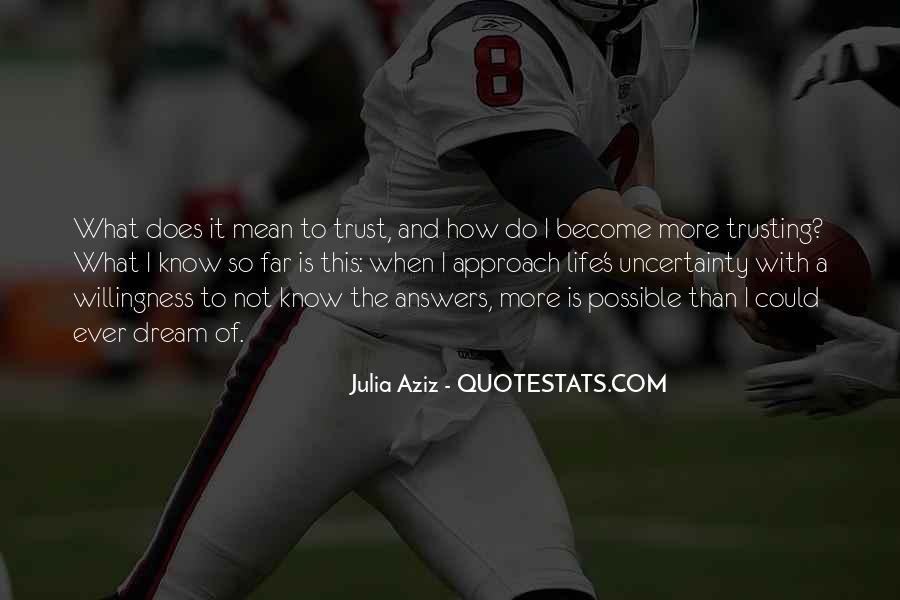 What's Trust Quotes #167053