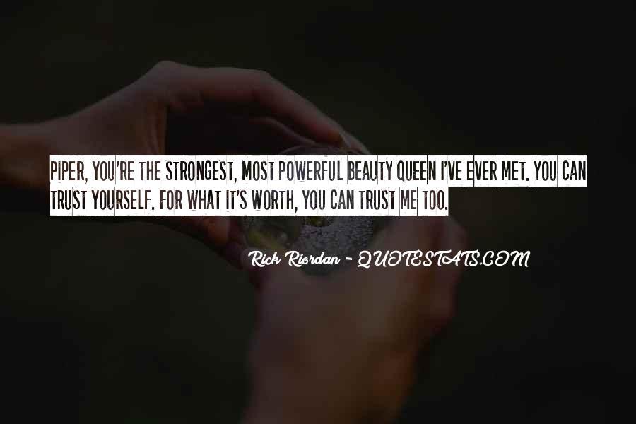 What's Trust Quotes #173281