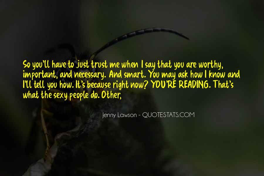 What's Trust Quotes #24198