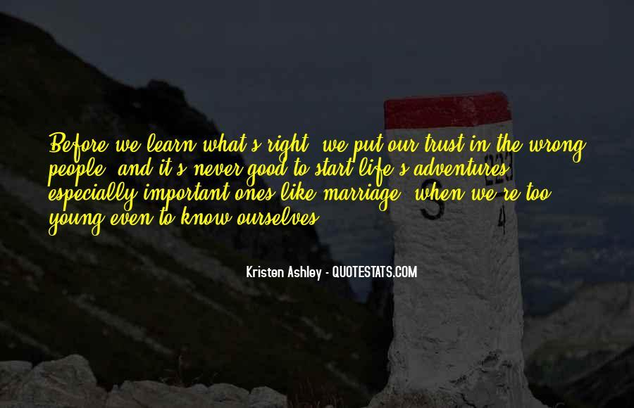 What's Trust Quotes #275904