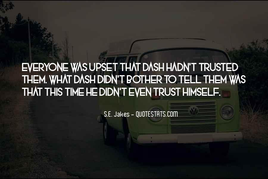 What's Trust Quotes #289255