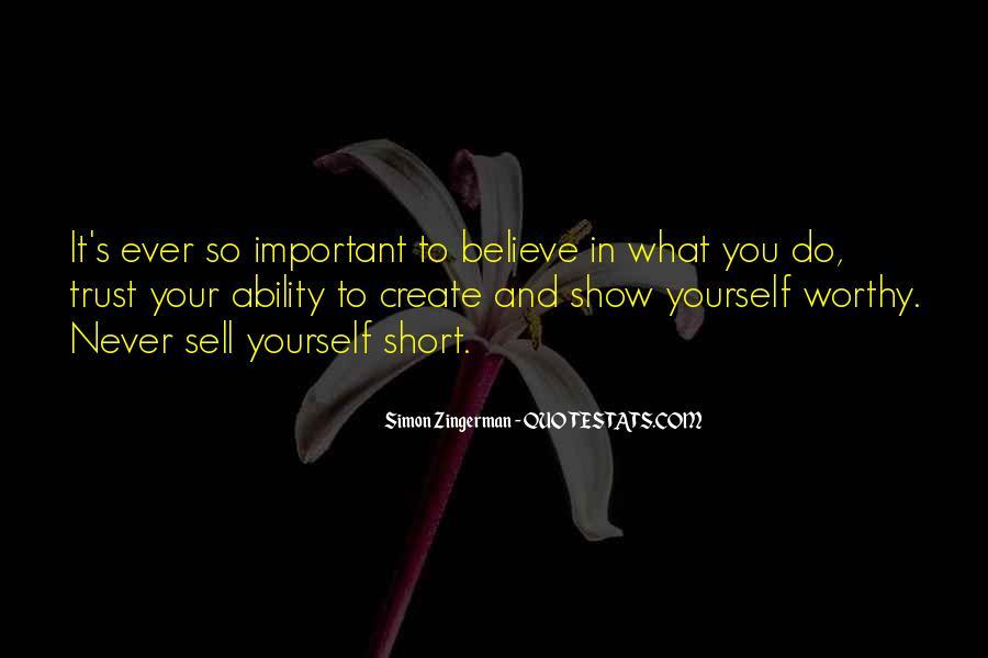 What's Trust Quotes #365382