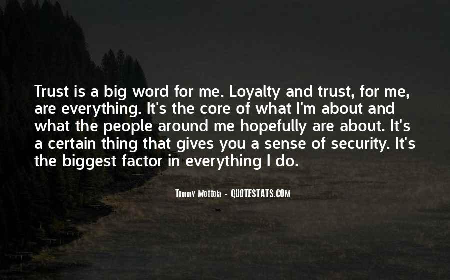 What's Trust Quotes #378267