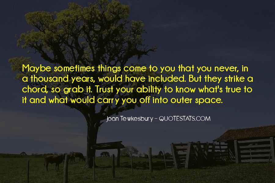 What's Trust Quotes #380982