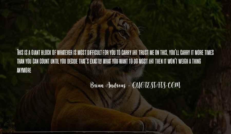 What's Trust Quotes #381649