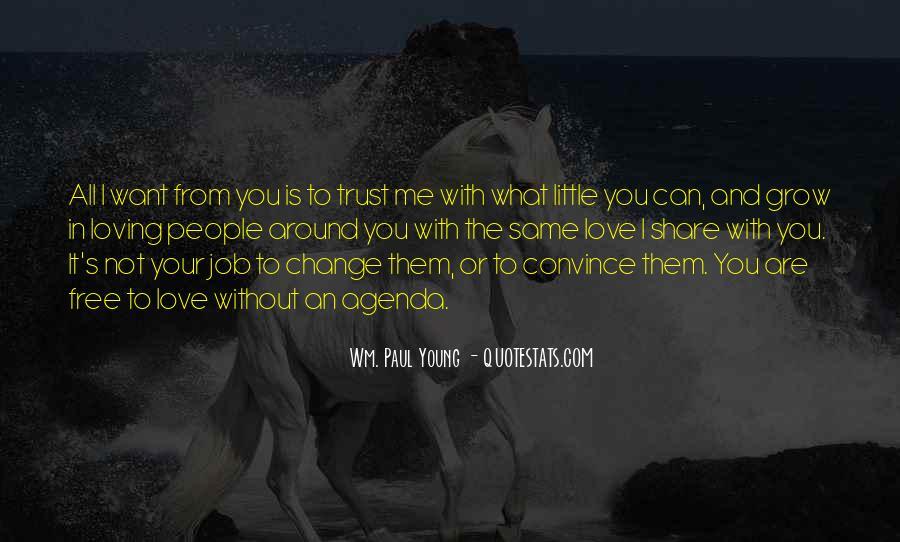 What's Trust Quotes #39364