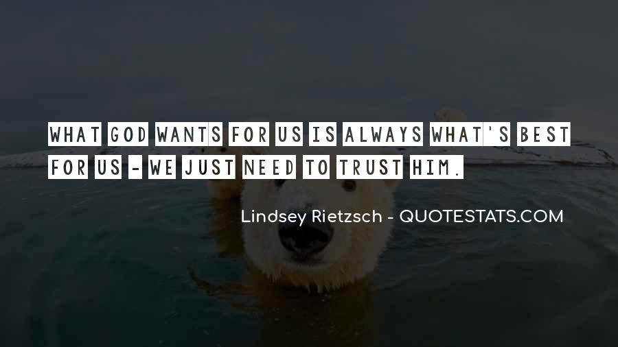 What's Trust Quotes #433799