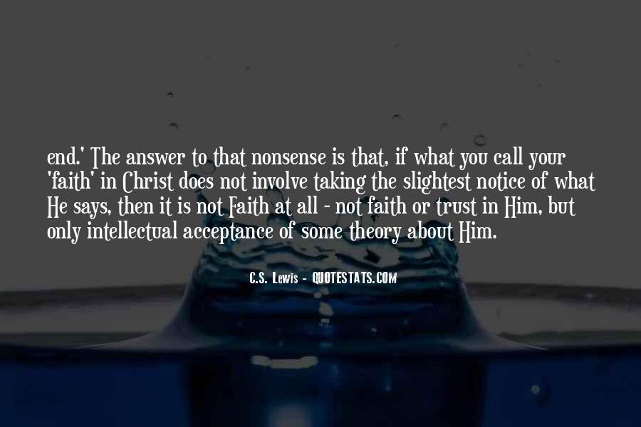 What's Trust Quotes #474843