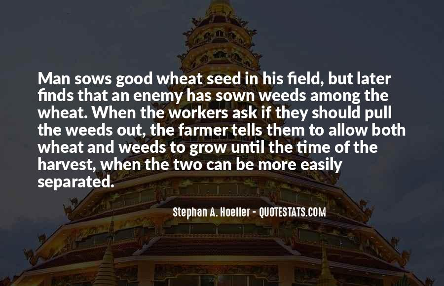 Wheat Field Quotes #1234390