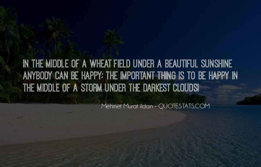 Wheat Field Quotes #982434