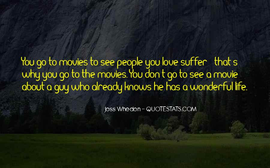 Whedon Love Quotes #1048661