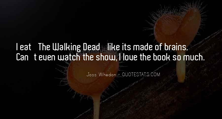 Whedon Love Quotes #1382662