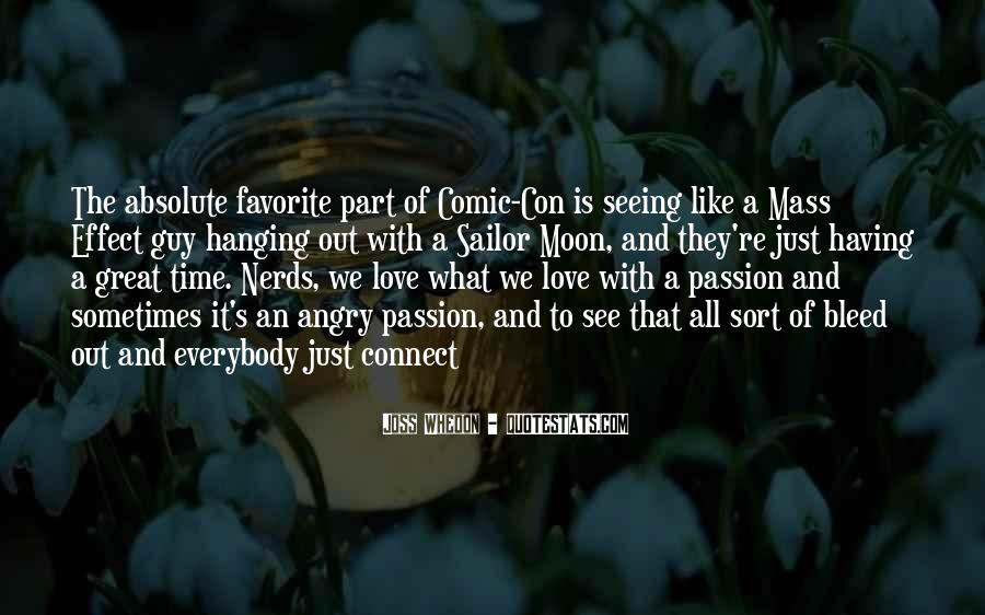Whedon Love Quotes #1555780