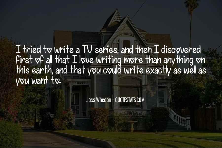 Whedon Love Quotes #1841334